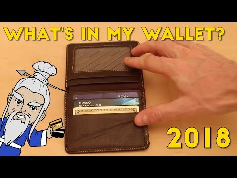 What's in MY WALLET 2018? (Best Credit Cards of the Year)