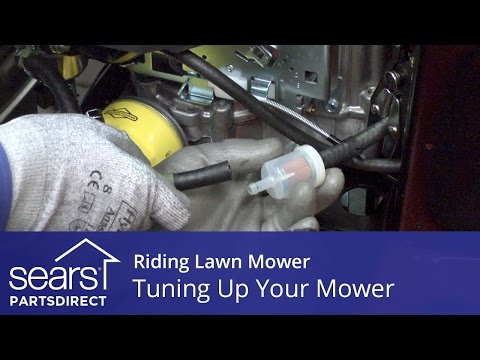 Tuning Up a Riding Lawn Mower
