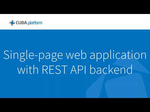 Building Angular 4 application with REST-API backend