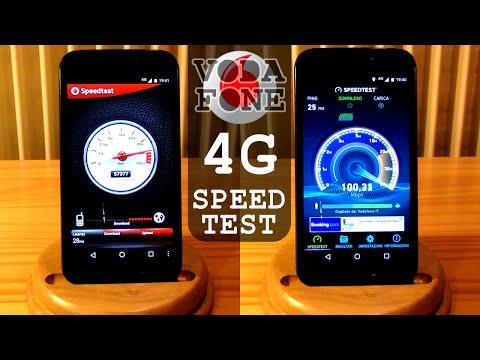 Vodafone 4G LTE SPEED TEST - Download Upload Ping