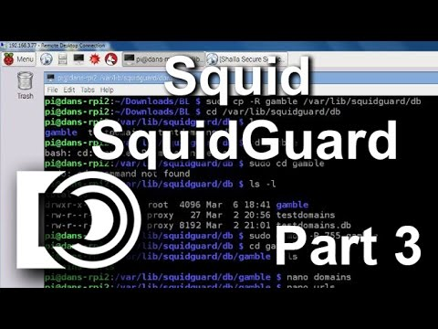 Install Squid and SquidGuard on a Raspberry Pi 2 - Part 3