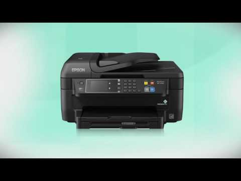 Epson WorkForce WF-2760 | Wireless Setup Using the Printer's Buttons