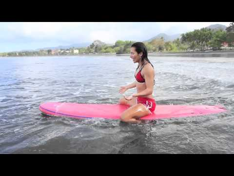 How to Surf: How to Sit On A Surfboard
