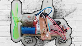 How to make a Electronic toy car at Home - ply board car - mini car