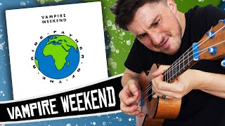 Download Vampire Weekend Ukulele Style! ( Father Of The Bride ) Video