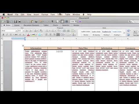 Word - Page Setup
