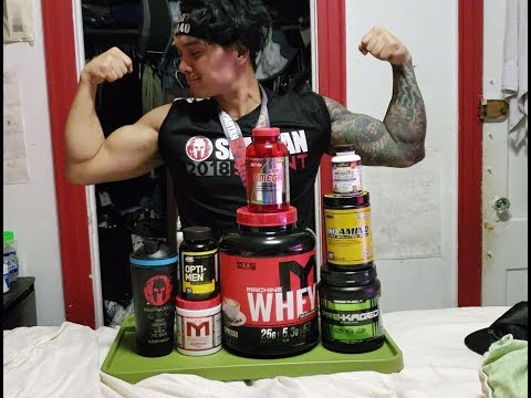 Staple Supplement Stack for lean muscle growth and weight loss for beginners to advanced