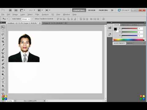 HOW TO CREATE 2X2 AND 1X1 ID PICTURE USING PHOTOSHOP (DETAILED MADE EASY)