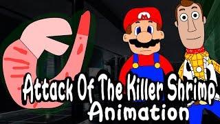 SML Short: Attack Of The Killer Shrimp! Animation
