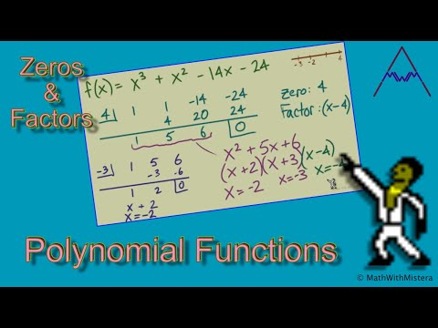 Finding Zeros and Factors of Polynomial Functions