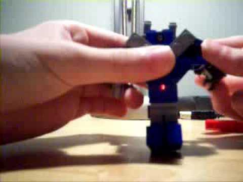 Lego transformers mini G1 shockwave!!!!!!!!!