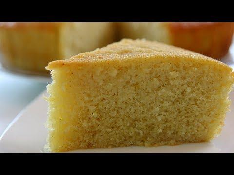 Rava Cake | Semolina Cake | Home made Sooji cake in Pressure Cooker