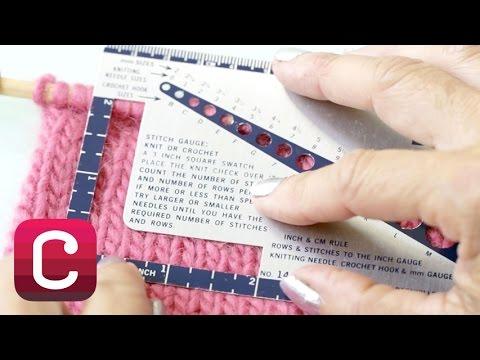 Understanding Knitting Gauge with Debbie Stoller I Creativebug