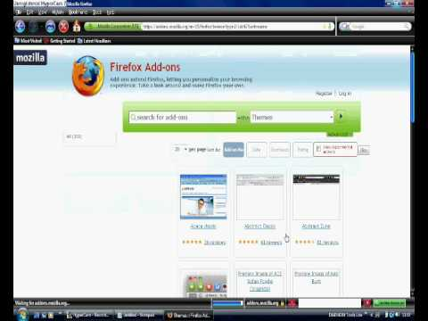 how to download and install themes for mozilla firefox