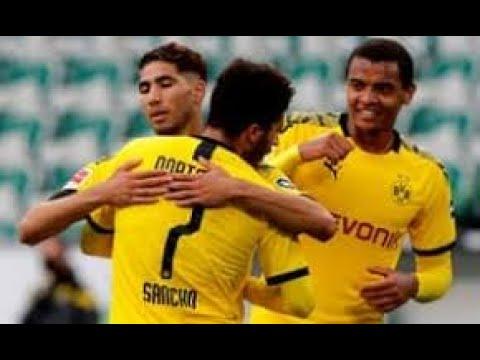 wolfsburg vs Borussia Dortmund 2020. All goals highlights.