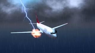 Turkish plane lands safely after lightning strike causes engine fire