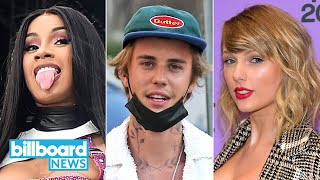 American Music Awards: Could Taylor Swift, Justin Bieber, or Cardi B Make History? | Billboard News