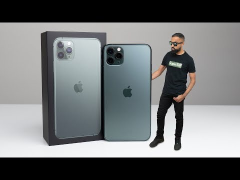 iPhone 11 Pro Max UNBOXING (Midnight Green)
