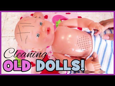 Cleaning Old Dolls | Surprise Twin Boys Part 2 | BlueprintDIY Kids