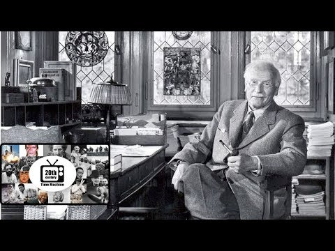 Legendary Psychiatrist Carl Jung in a Fascinating Rare Interview  (1959)
