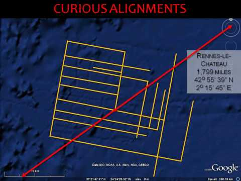 Is Atlantis on Google Earth?: Curious Alignments