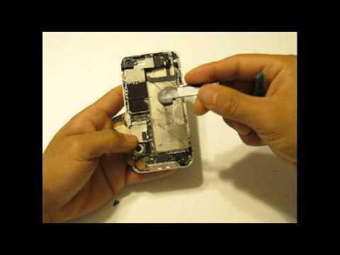 iPhone 4S Teardown & Touch Screen Digitizer LCD Screen Display Replacement Repair Directions