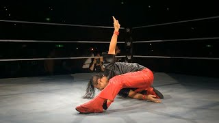 Shinsuke Nakamura gets a hero