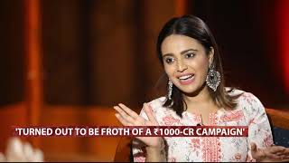 UpFront With Karan Thapar, May 14th | Interview With Bollywood Actress Swara Bhaskar