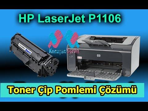HP LaserJet Pro P1106 Toner Çip Sorunu Nasıl Çözülür