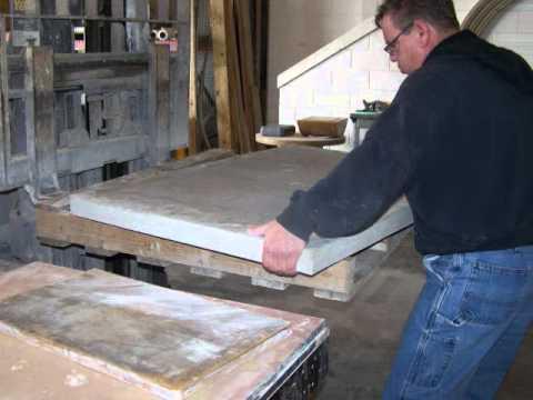 Making Cast Stone Shower Bases
