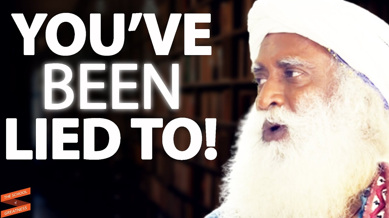 EVERYTHING You've Been Taught About Manifesting Abundance IS WRONG!    Sadhguru & Lewis Howes
