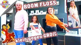 Download BOOM FLOSS CHALLENGE - KLEIN gegen GROß Duell - Family Fun Video