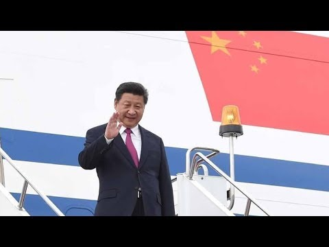 President Xi leaves for Russia before heading to Germany