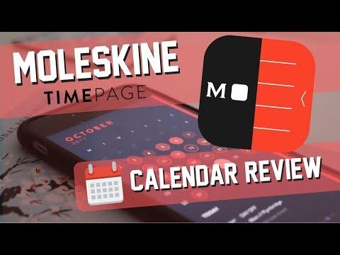 Moleskine Timepage Calendar Review + 10-iOS code GIVEAWAY! 📅