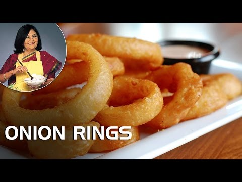 How To Make Onion Rings? | Master Chef Tarla Dalal