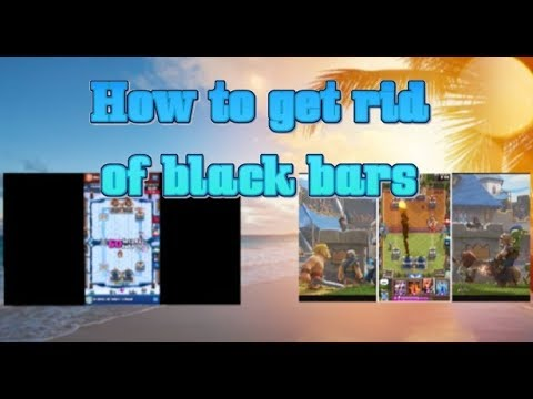 HOW TO GET RID OF BLACK BARS USING IMOVIE!