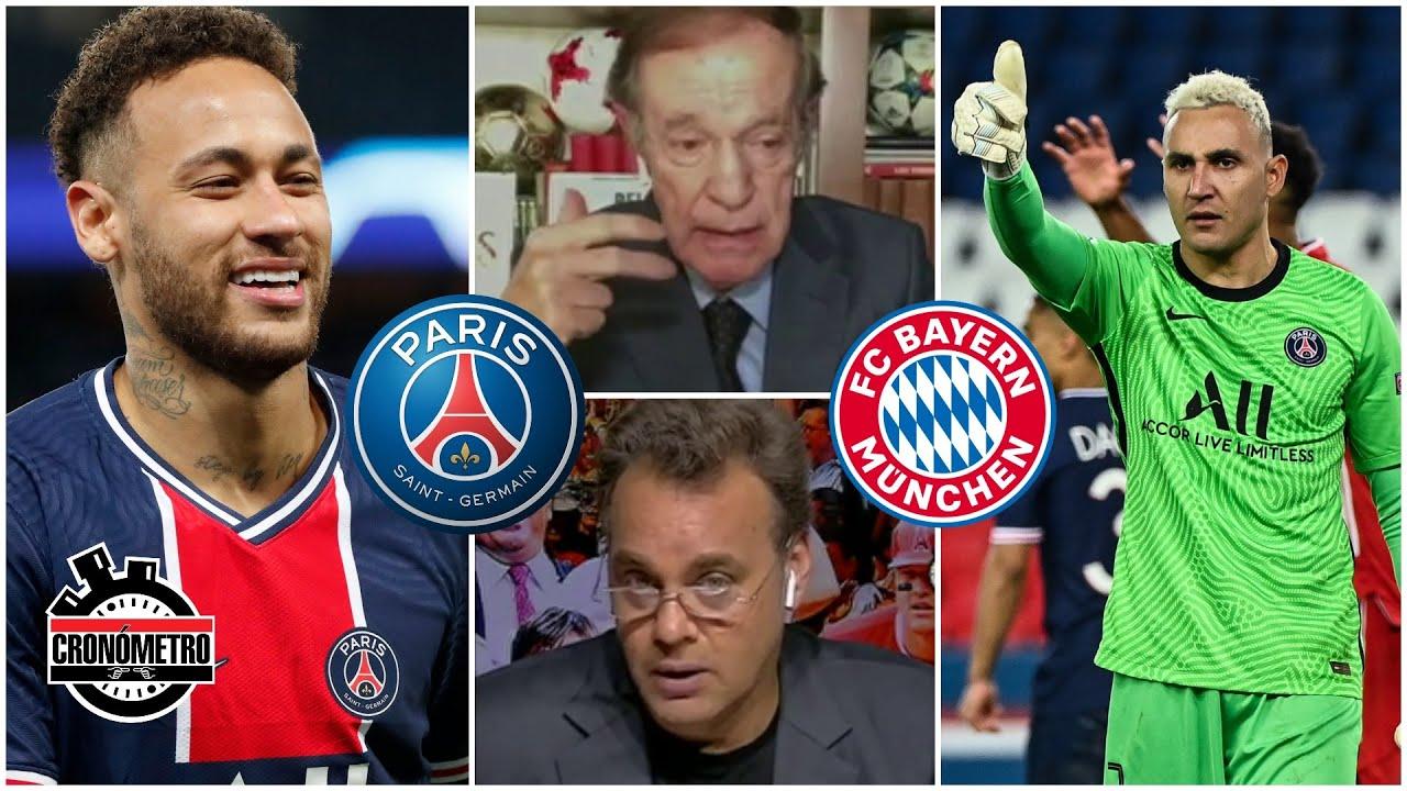 CHAMPIONS. Keylor Navas estupendo. Lujos de Neymar. PSG a semifinales. ¿Es el favorito?   Cronómetro