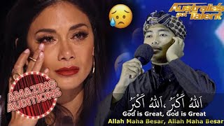 WOW! ADHAN BEST AUDITION That Made The Judges And The World CRY | Australia