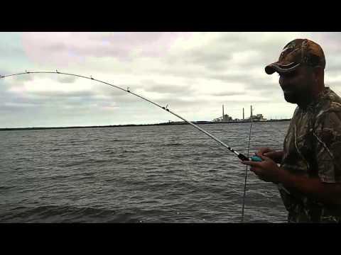 calaveras Lake redfishing april 2015