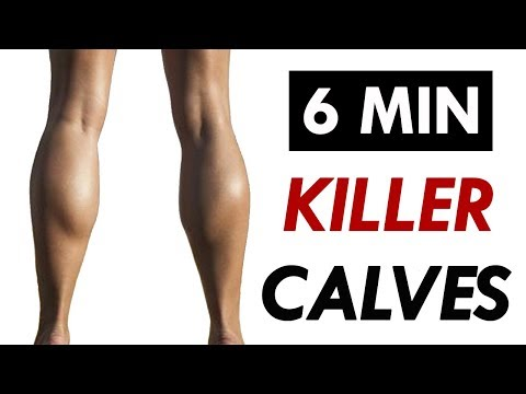 How To Get Sexy Calves FAST | 6 Minute Calf Workout At Home For Women