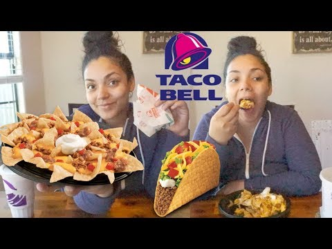 Pregnancy Cravings! TACOBELL MUKBANG!! Nacho Bell Grande & Taco! BURPS at the end (Eating Show)