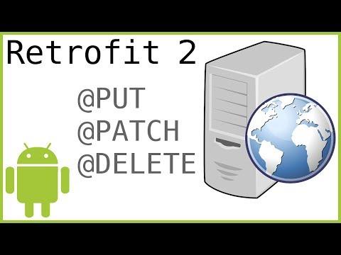 Retrofit Tutorial Part 4 - PUT, PATCH & DELETE REQUEST - Android Studio Tutorial