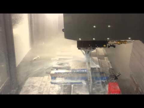 Haas VF-2SS Machining Angle Plates