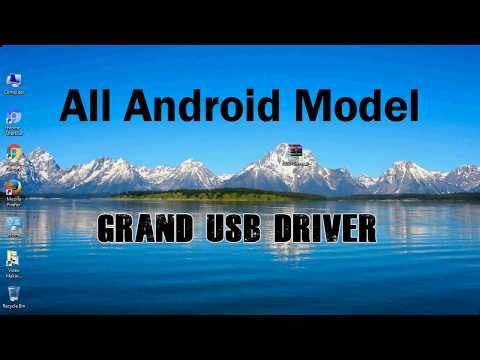 How to Install Grand USB Driver for Windows | ADB and FastBoot