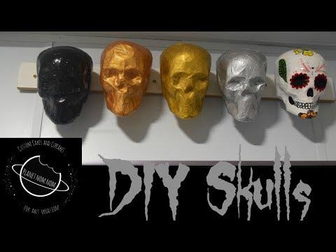 decoración de calaveras 💀 Skull decoration