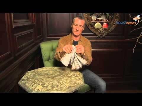 Fanned Napkin Folding