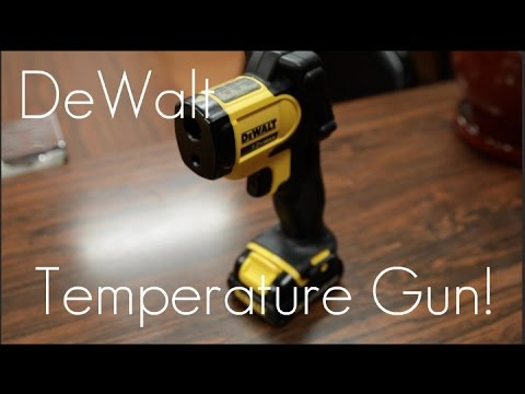 DEWALT Infrared Thermometer Gun - Quick Review / Demo