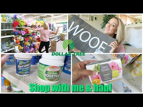 EXTREME DOLLAR TREE SHOP WITH ME & HAUL 2018 | NEW POPULAR FINDS!