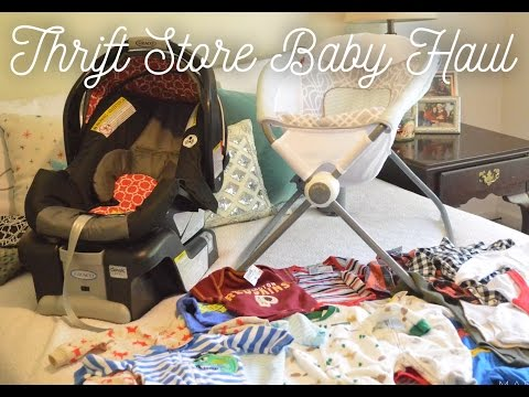 Baby Haul | Thrift Store Edition