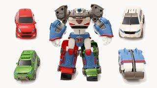 Lắp ráp robot siêu nhân biến hình Tobot DeltaTron Car Toys Robot Transformer